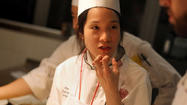 "Around this time last year, Beverly Kim was something of a minor television celebrity on ""Top Chef."" Several Saturdays ago, we found Kim calling out dinner orders from a cavernous and modern West Town kitchen, a space that would be the envy of every chef in town. This kitchen even has a 180-degree view of the Chicago skyline."