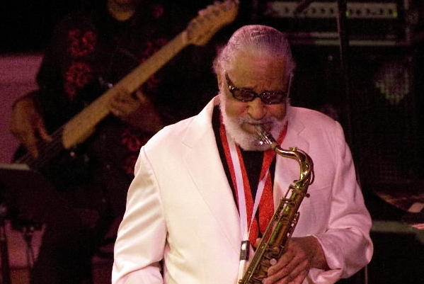 Tenor saxophonist Sonny Rollins plays Orchestra Hall in 2010.