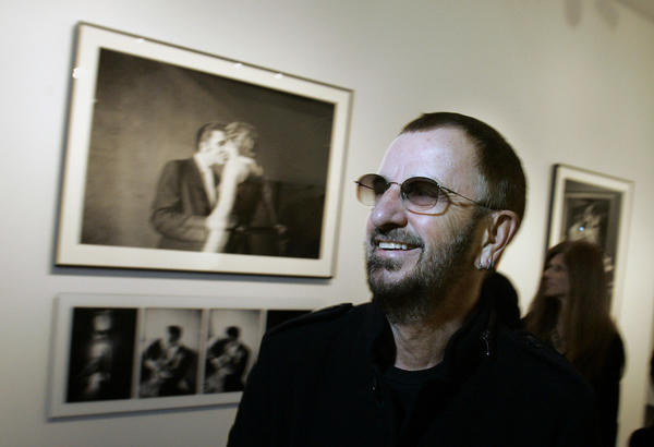 "Ringo Starr, photographed at the Grammy Museum in 2010, is the focus of a new exhibit, ""Ringo: Peace and Love,"" opening at the museum June 12."