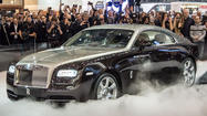 What's the most intriguing aspect of the all-new Rolls Royce Wraith coupe that debuted this week at the Geneva Motor Show?