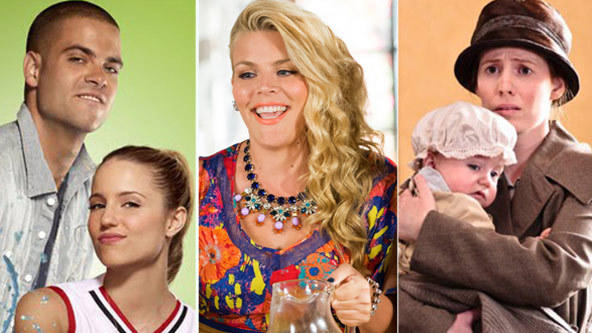 Oops babies: Unplanned pregnancies of television from 'Maude' to 'Glee': TV has a long history of unexpected and sometimes even shocking pregnancies. And why not? They make for interesting storylines and then bring cute babies. This is a history (incomplete, of course) of those unplanned pregnancies that came before the big shocker in the Glee episode, I Do.