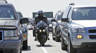 The controversial practice of motorcycle lane-splitting is legal in California. Or at least it's not <em>illegal. </em>