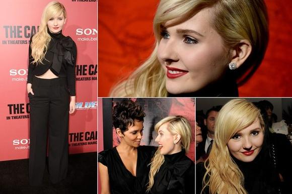 Abigail Breslin at 'The Call' premiere