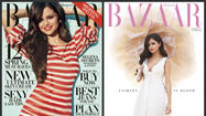 "Selena Gomez was shot by Terry Richardson for two covers of April's Harper's Bazaar. She wears a Dolce & Gabbana striped top and shorts on the very busy newsstand cover and a more subdued white bustier dress by Calvin Klein in the more tranquil subscriber version. Inside, she talks about fashion, fame and the single life since she and Justin Bieber split up. <a href=""http://www.harpersbazaar.com/magazine/cover/selena-gomez-interview-0413#slide-1"">[Harper's Bazaar]</a>"