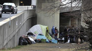 Advocates work to find housing for homeless at downtown encampment