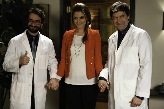'The Mindy Project' Season 1 photos: Episode 15: Mindys Minute (guest stars Jay Duplass, Maria Menounos, Mark Duplass)