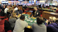 Many were off work because of a snowstorm that never came, so they went to Hollywood Casino, tucked off Interstate 95, in search of games they thought they'd never see here: blackjack, roulette, craps and poker.