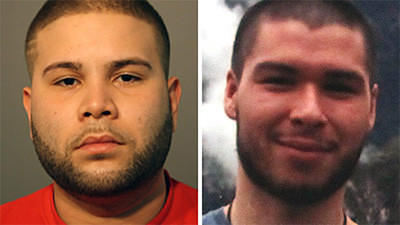 Arcadio Davila, 24, left, has been charged with the murder of Ricky Pike.