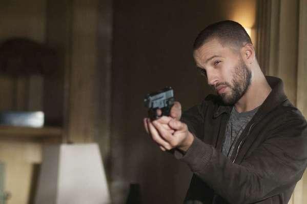 "Logan Marshall-Green, in a scene from the TNT drama ""Dark Blue."""