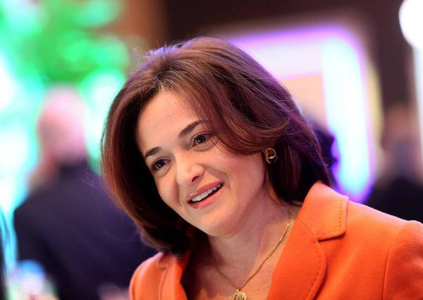 Sheryl Sandberg, chief operating officer of Facebook Inc.