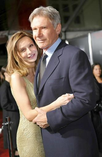 "<a href=""http://latimesblogs.latimes.com/gossip/2010/06/harrison-ford-calista-flockhart-married-new-mexico.html"">Harrison Ford and Calista Flockhart finally tied the knot in June</a>, in New Mexico with Gov. <a class=""taxInlineTagLink"" id=""PEPLT007507"" title=""Bill Richardson"" href=""/topic/politics/bill-richardson-PEPLT007507.topic"">Bill Richardson</a> doing the honors.  They'd been together for eight years and are raising a son. This is wifey No. 3 for Harrison, who landed himself in Forbes' ""Most Expensive Celebrity Divorces"" Hall of Fame when wifey No. 2, screenwriter Melissa Mathison, took him to a very fancy cleaners."