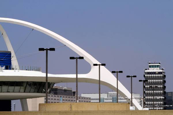 Los Angeles International Airport has its iconic theme building -- but no rail stop.