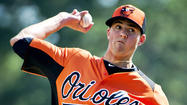 The Orioles have an afternoon game against the Toronto Blue Jays in Sarasota, and those Blue Jays aren't fooling around. They have brought some of their big guns, such as Jose Bautista, Melky Cabrera and Adam Lind. And Mark Buehrle is expected to throw three innings to start.
