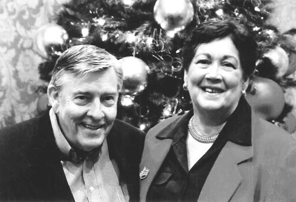 Mr. and Mrs. Larry Warner, 2012