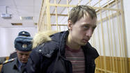 MOSCOW -- Burning the Bolshoi Ballet artistic director's face with acid was not part of the plan, the top dancer arrested for allegedly masterminding the attack told a Russian court Thursday.