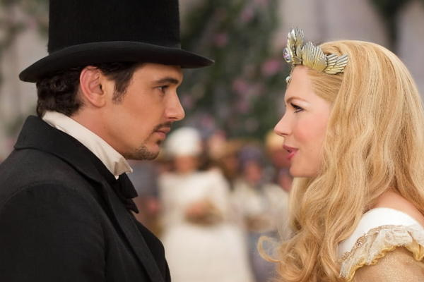 "<b>PG; 2:10 running time</b><br><br> Is ""Oz the Great and Powerful"" a prequel to the Oz we know best from the movies, ""The Wizard of Oz,"" or a separate adventure culled from the L. Frank Baum books, or what? Yes to all three. In a nod to the 1939 classic, Raimi begins in Kansas in 1.33:1 screen ratio, in black and white, introducing Oscar ""Oz"" Diggs (Franco) as he readies a fetching new assistant for his tent-show act. One twister later, the movie expands to widescreen and color, and almost immediately we're reminded why we're wearing our 3-D glasses. Oz's hot-air balloon lands in raging fantastical river rapids, leading him to the first of the three witches of note. -- Michael Phillips<br><br><a href=http://www.chicagotribune.com/entertainment/movies/sc-mov-0305-oz-great-powerful-2-20130307,0,7350194.column>Read the full ""Oz the Great and Powerful"" movie review</a>"
