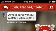 Path, the social network designed for close friends and family, began rolling out its latest major update for iOS users Wednesday.