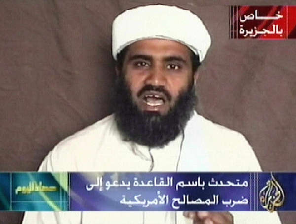 Suleiman Abu Ghaith, seen in a 2009 broadcast, will soon face charges in New York.