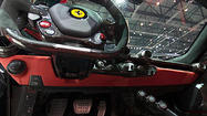 Panorama: Inside the LaFerrari at the 2013 Geneva Motor Show