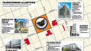 GRAPHIC: Map of new jobs coming to Allentown