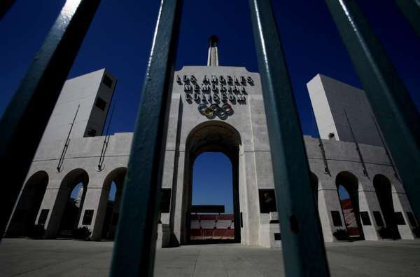 Could the Coliseum in 2024 host its third Olympics?