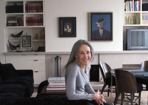 Helen Zell, wife of billionaire real estate mogul Sam Zell, at her home in Chicago.