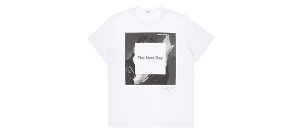 The Paul Smith for David Bowie T-shirt ($145)features artwork from Bowie's new album 'The Next Day.'