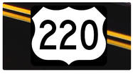 Two lanes of the Route 220 Expressway in Roanoke will be closed for a few hours Sunday.