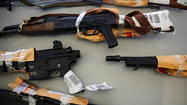 Illegal firearms seized
