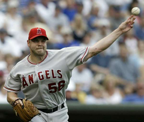 Jarrod Washburn pitched for the Angels from 1998 to 2005.
