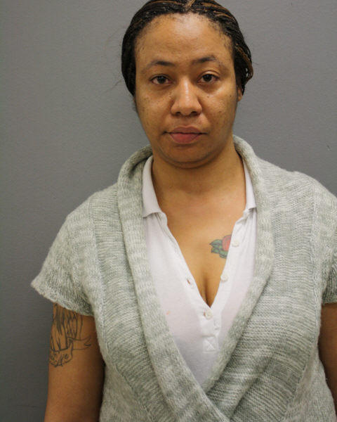 Booking photo of Nicole Falls