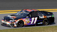 NASCAR has fined Denny Hamlin $25,000 for disparaging comments about the racing last week at Phoenix.