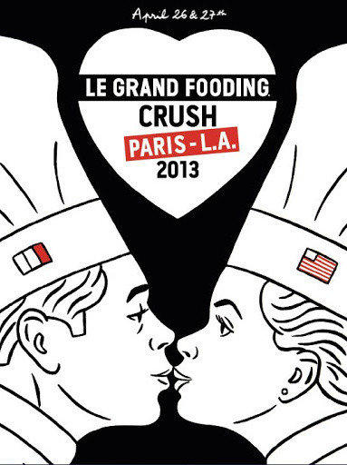 Le Grand Fooding Crush Paris-L.A. 2013 will take place in April at MOCA Geffen.