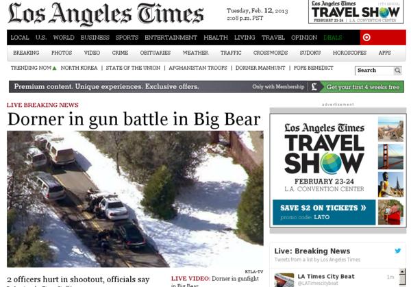 Latimes.com on Feb. 12, 2013.