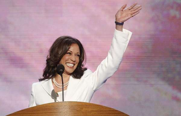 California Atty. Gen Kamala Harris has already lined up support for her reelection in 2014 from Emily's List, a national group working to get more women elected to political office.