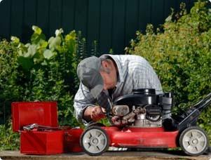 A mower that's tuned up and has a sharp blade makes for a better- lawn-cutting experience.