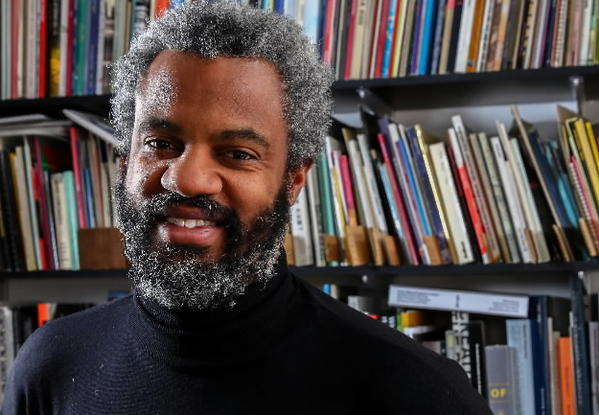 Hamza Walker, curator for the Renaissance Society at the University of Chicago.