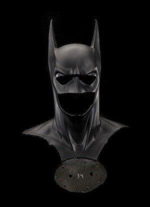 Mask and cowl from 'Batman & Robin'