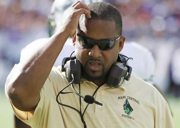 Telly Lockett, new USF RB coach, from Miami Central, photo
