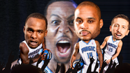 Dwight Howard's ex-Orlando Magic teammates channel Cee-Lo Green to deliver a message for their departed Superman and the hated Los Angeles Lakers.