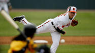 The Orioles made their first cuts of the spring Thursday, sending five players to minor league camp, including two of the organization's most promising young pitchers.
