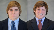 Teammates at last, Lewnes brothers leading UMBC lacrosse