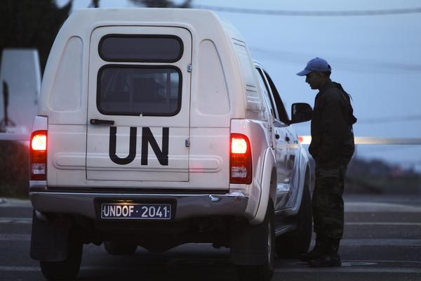U.N. peacekeepers in Syria