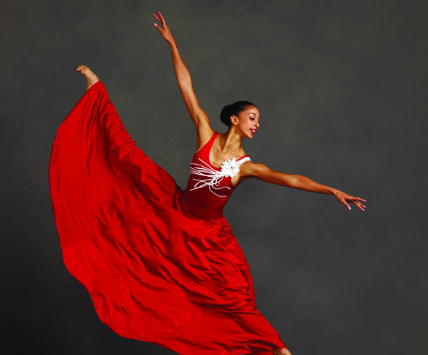 "Alicia Graf Mack in Alvin Ailey's ""Memoria."""