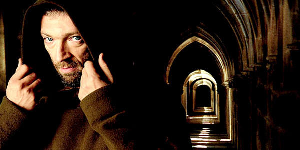 "Vincent Cassel in a scene from ""The Monk."""