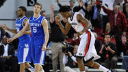 ATHENS, Ga. - Kentavious Caldwell-Pope scored 24 points and grabbed 10 rebounds, leading Georgia to a 72-62 victory Thursday night that dealt another big blow to Kentucky's NCAA hopes.