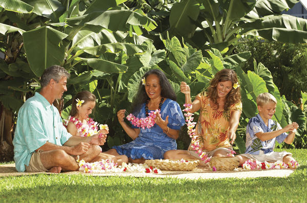 "Lei-making is just one of the many cultural activities offered to guests at what's been called Hawaii's ""Most Hawaiian Hotel."""