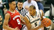 EAST LANSING, Mich. -- Keith Appling broke out of a shooting slump to score 19 points, and Michigan State snapped a three-game losing streak with a 58-43 victory over Wisconsin at Breslin Center on Thursday.