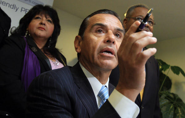 Los Angeles Mayor Antonio Villaraigosa says the possibility that the city's budget deficit could be cut by more than half means draconian cuts are unlikely.
