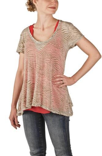 """Forever 21, $24.80, <a href=""""http://forever21.com"""">forever21 .com</a>. (Animal print shirt: Forever 21, $15.80)"""